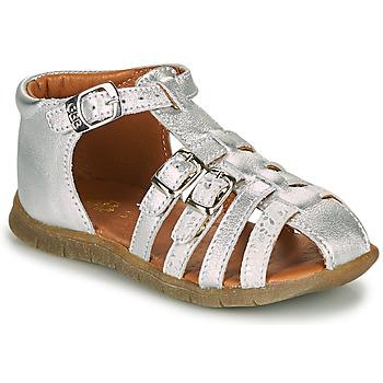 Boty Dívčí Sandály GBB PERLE Stříbrná