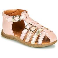 Boty Dívčí Sandály GBB PERLE Růžová