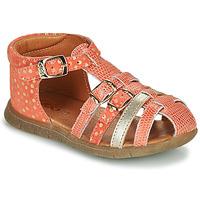 Boty Dívčí Sandály GBB PERLE Červená