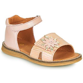 Boty Dívčí Sandály GBB SATIA Růžová