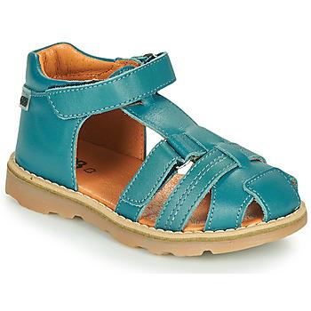 Boty Chlapecké Sandály GBB MITRI Modrá