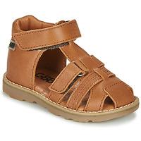 Boty Chlapecké Sandály GBB MITRI Hnědá