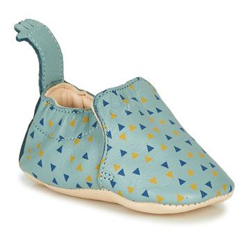 Boty Děti Papuče Easy Peasy BLUMOO Modrá