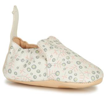 Boty Děti Papuče Easy Peasy BLUMOO Bílá