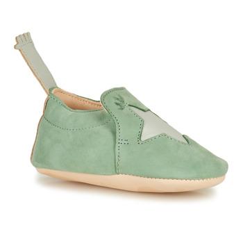 Boty Děti Papuče Easy Peasy BLUMOO ETOILE Zelená