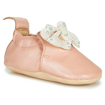 Boty Děti Papuče Easy Peasy BLUMOO NOEUD Růžová