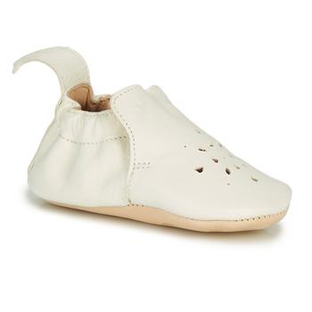 Boty Děti Papuče Easy Peasy BLUMOO PERFOS Bílá