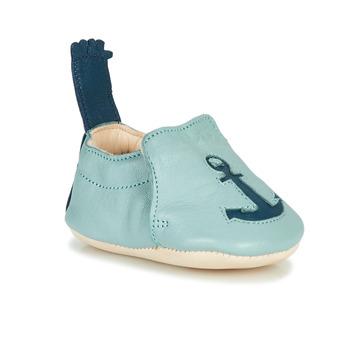 Boty Děti Papuče Easy Peasy BLUMOO ANCRE Modrá