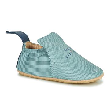 Boty Děti Papuče Easy Peasy BLUBLU Modrá