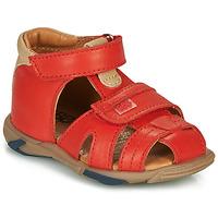 Boty Chlapecké Sandály GBB NUVIO Červená