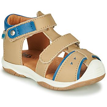 Boty Chlapecké Sandály GBB EUZAK Béžová