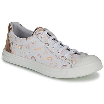 Boty Dívčí Nízké tenisky GBB MATIA Bílá / Růžová