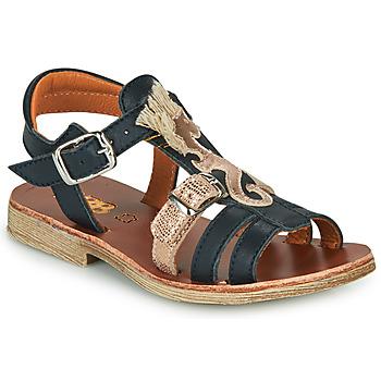 Boty Dívčí Sandály GBB PALOMA Tmavě modrá