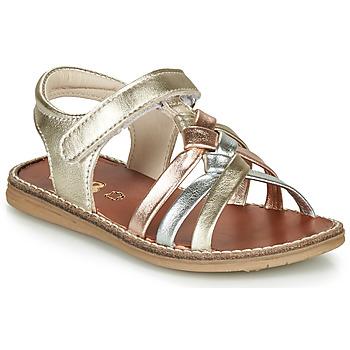 Boty Dívčí Sandály GBB SUMY Zlatá