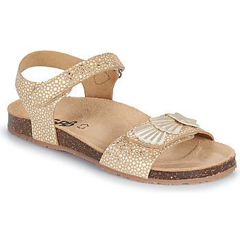 Boty Dívčí Sandály GBB FAZZI Zlatá