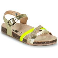 Boty Dívčí Sandály GBB LULUNE Zlatá