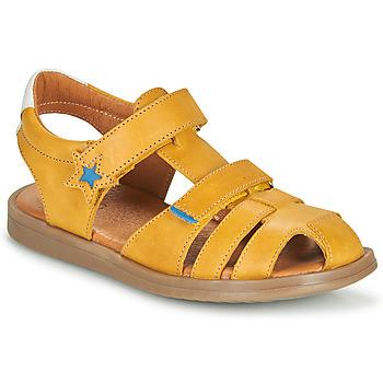 Boty Chlapecké Sandály GBB MARINO Žlutá