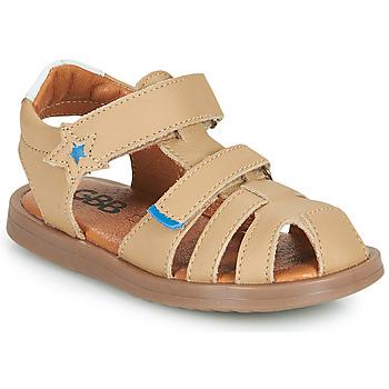 Boty Chlapecké Sandály GBB MARINO Béžová