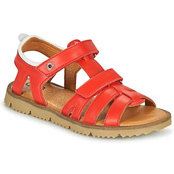 Boty Chlapecké Sandály GBB JULIO Červená
