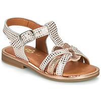 Boty Dívčí Sandály GBB EGEA Zlatá / Růžová