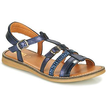 Boty Dívčí Sandály GBB OLALA Modrá