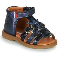 Boty Dívčí Sandály GBB PAULETTE Tmavě modrá