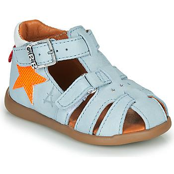Boty Chlapecké Sandály GBB MARIUS Modrá