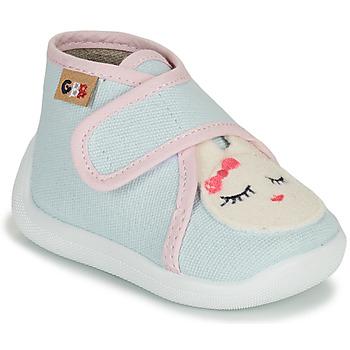 Boty Dívčí Papuče GBB APODIE Modrá