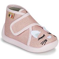 Boty Dívčí Papuče GBB APODIE Růžová