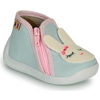 Boty Dívčí Papuče GBB APOLA Modrá