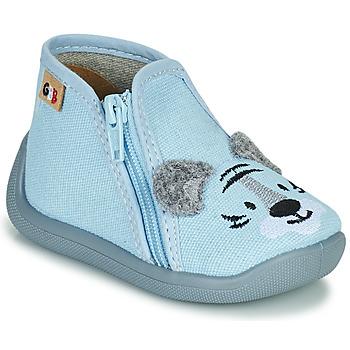 Boty Dívčí Papuče GBB APOMO Modrá