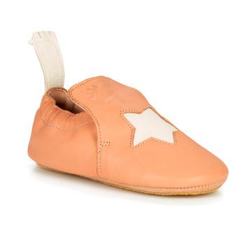Boty Dívčí Papuče Easy Peasy BLUBLU ETOILE Broskvová - bílá