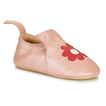 Boty Děti Papuče Easy Peasy BLUBLU FLEURS Růžová