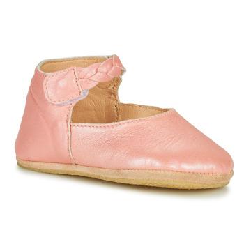 Boty Děti Papuče Easy Peasy BLUBLU DANCE Růžová