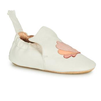 Boty Děti Papuče Easy Peasy BLUBLU COQUILLE Bílá