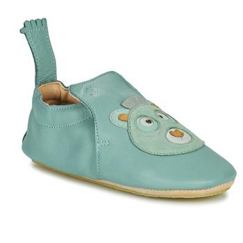 Boty Děti Papuče Easy Peasy BLUBLU OURS Modrá