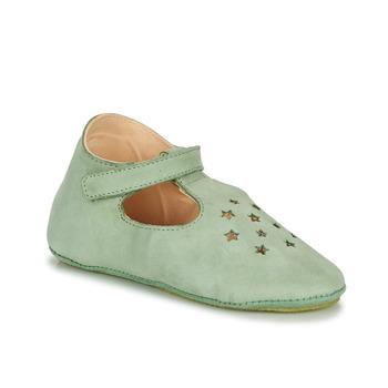 Boty Děti Papuče Easy Peasy LILLOP Zelená