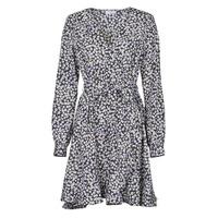 Textil Ženy Krátké šaty Betty London NAZUR Tmavě modrá / Bílá