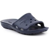 Boty Dřeváky Crocs Jibbitz Presley Slide 202967-410 navy
