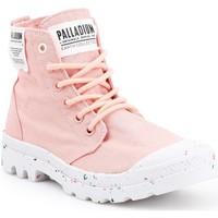 Boty Ženy Kotníkové tenisky Palladium Manufacture HI Organic W 96199-647-M pink