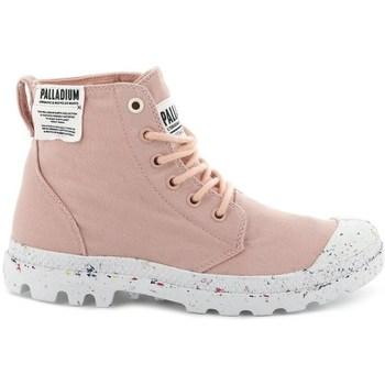 Boty Ženy Kotníkové tenisky Palladium Manufacture Pampa HI Růžové