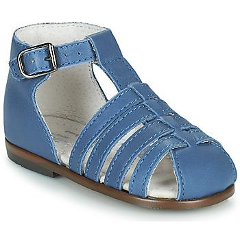 Boty Dívčí Sandály Little Mary JULES Modrá