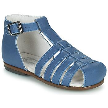 Boty Děti Sandály Little Mary JULES Modrá