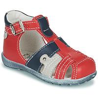 Boty Chlapecké Sandály Little Mary VERCORS Červená
