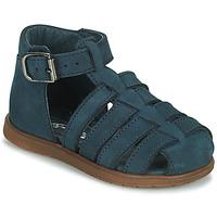 Boty Chlapecké Sandály Little Mary LIXY Modrá