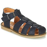 Boty Chlapecké Sandály Little Mary BREHAT Modrá