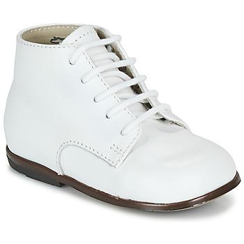 Boty Děti Kotníkové boty Little Mary QUINQUIN Bílá