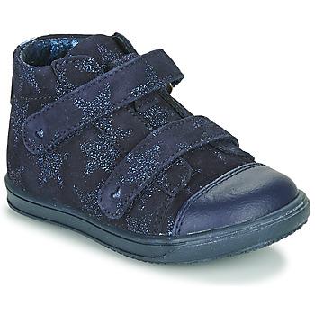 Boty Dívčí Kotníkové tenisky Little Mary ADELINE Tmavě modrá
