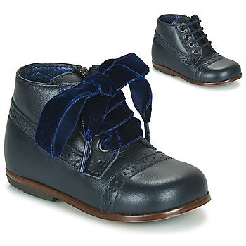 Boty Dívčí Kotníkové boty Little Mary FAVORITE Tmavě modrá