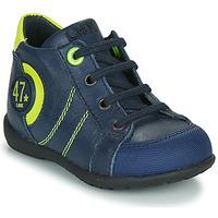 Boty Chlapecké Kotníkové boty Little Mary FELIX Tmavě modrá